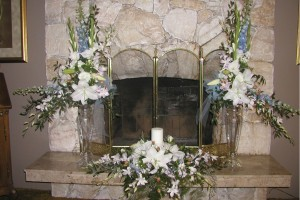 CJ wedding centerpieces